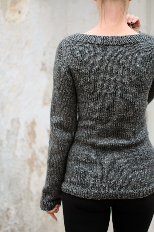 DISCIPLINE : Sweater Knitting Pattern - Brome Fields
