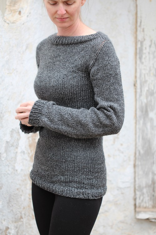 Discipline Sweater Knitting Pattern Brome Fields