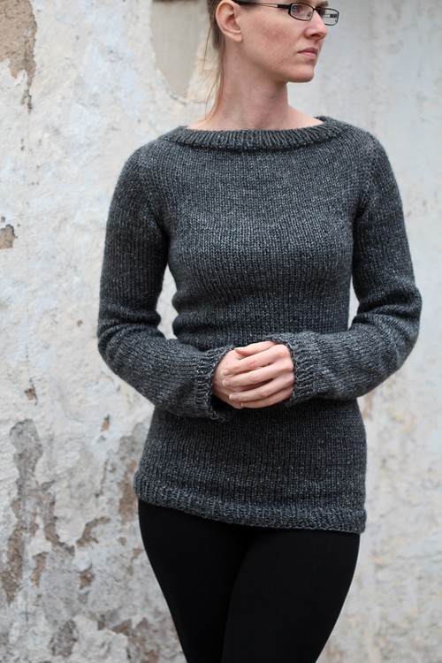 Sweater Knitting Pattern : Discipline
