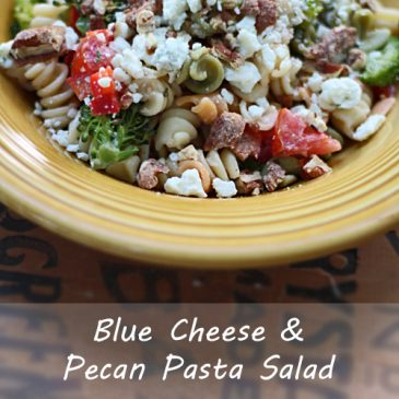 Blue Cheese & Pecan Pasta Salad