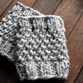 COURAGEOUS : Boot Cuff Knitting Pattern