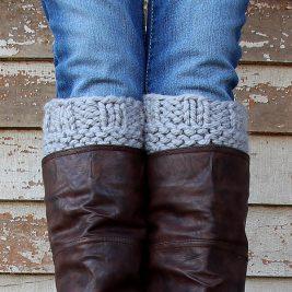 HONESTY : Boot Cuff Knitting Pattern