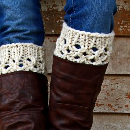 INTEGRITY : Boot Cuff Knitting Pattern