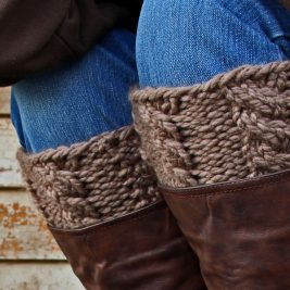VIGILANCE : Boot Cuff Knitting Pattern