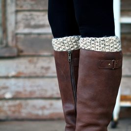 REFLECTION : Boot Cuff Knitting Pattern