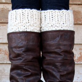 RESPECT : Boot Cuff Knitting Pattern