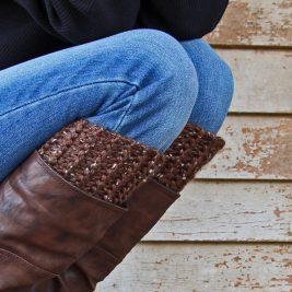 REASONABLE : Boot Cuff Knitting Pattern