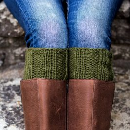 Candor Boot Cuff Knitting Pattern