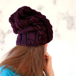 COMMITMENT Hat Knitting Pattern