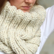 DARING Cowl Knitting Pattern