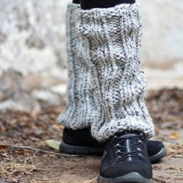 DARING Leg Warmer Knitting Pattern