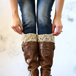 DIGNITY : Boot Cuff Knitting Pattern