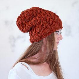 Dignity Hat Knitting Pattern {New Fall Pattern #2}