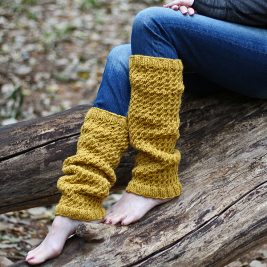 Dignity Leg Warmer Knitting Pattern