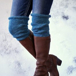 FAITH : Boot Cuff Knitting Pattern
