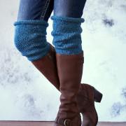 Faith Boot Cuff Knitting Pattern