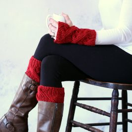 FORTITUDE : Boot Cuff & Fingerless Gloves Knitting Pattern