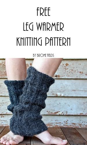 FREE Leg Warmer Knitting Pattern {Super soft & cozy!}