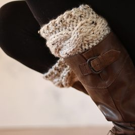 FRIENDSHIP : Boot Cuff Knitting Pattern