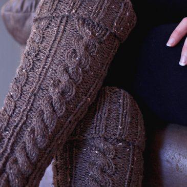 Intentional Leg Warmers Knitting Pattern {New Fall Line #13}
