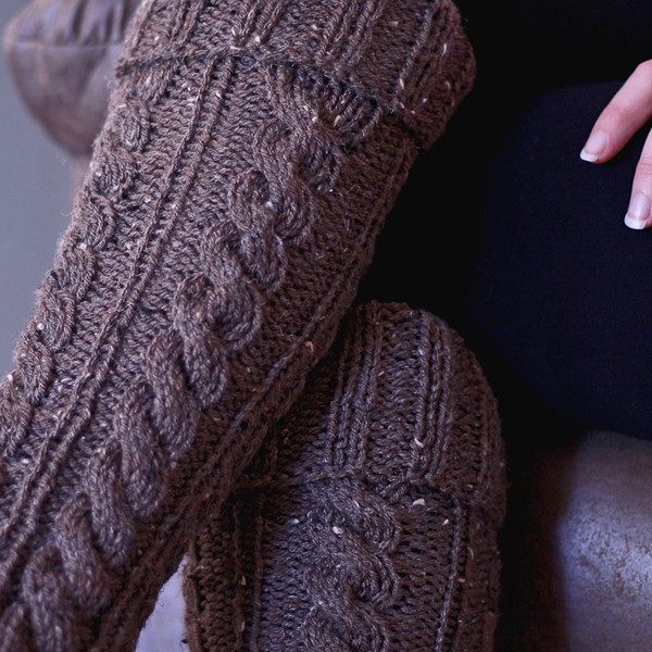 Intentional Leg Warmers Knitting Pattern