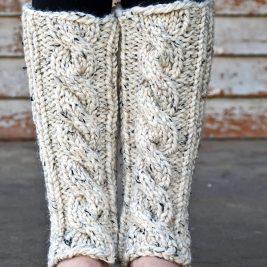 INVENTIVENESS Leg Warmer Knitting Pattern