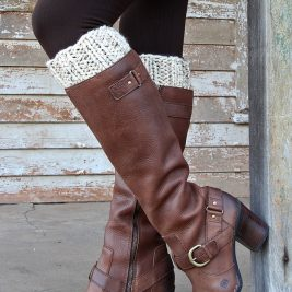 DARING : Boot Cuff Knitting Pattern
