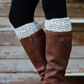 GENEROSITY : Boot Cuff Knitting Pattern
