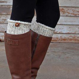 NOW : Boot Cuff Knitting Pattern