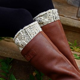 PATIENCE : Boot Cuff Knitting Pattern