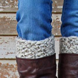 Video : Confidence Boot Cuff Knitting Pattern