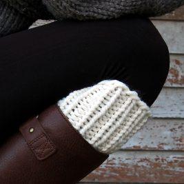 SIMPLICITY : Boot Cuff Knitting Pattern