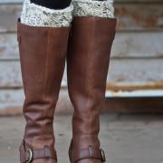 Vigilance Boot Cuff Knitting Pattern