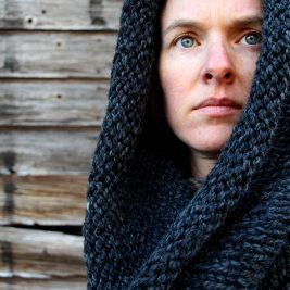 LETTING GO - Women's Cowl Knitting Pattern