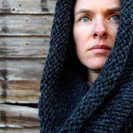 LETTING GO - Women's Cowl Knitting Pattern