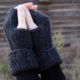 Acceptance Fingerless Gloves Knitting Pattern