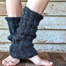 DISCERNMENT Leg Warmer Knitting Pattern