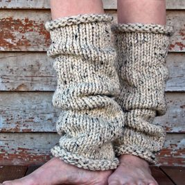 INSIGHT - Women's Leg Warmer Knitting Pattern