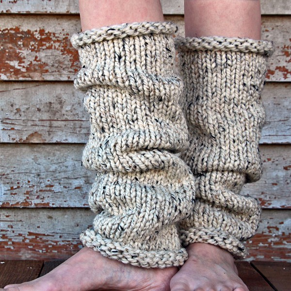 Insight Leg Warmers Knitting Pattern