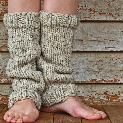 STRENGTH Leg Warmer Knitting Pattern