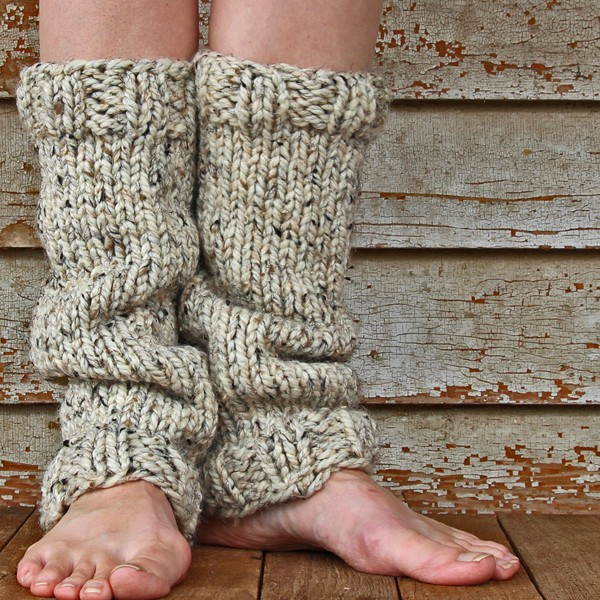 Strength Leg Warmer Knitting Pattern