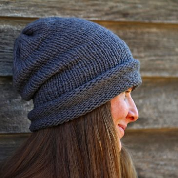 I {am} WORTHY Hat Knitting Pattern