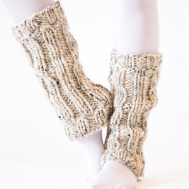 PLAYFUL Leg Warmer Knitting Pattern