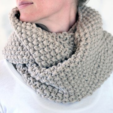 Reverence Cowl Knitting Pattern {New Fall Pattern #3}