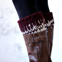 Spontaneity Boot Cuff Knitting Pattern {New Fall Line #8} {RETIRED}