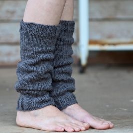 MEEK Leg Warmer Knitting Pattern