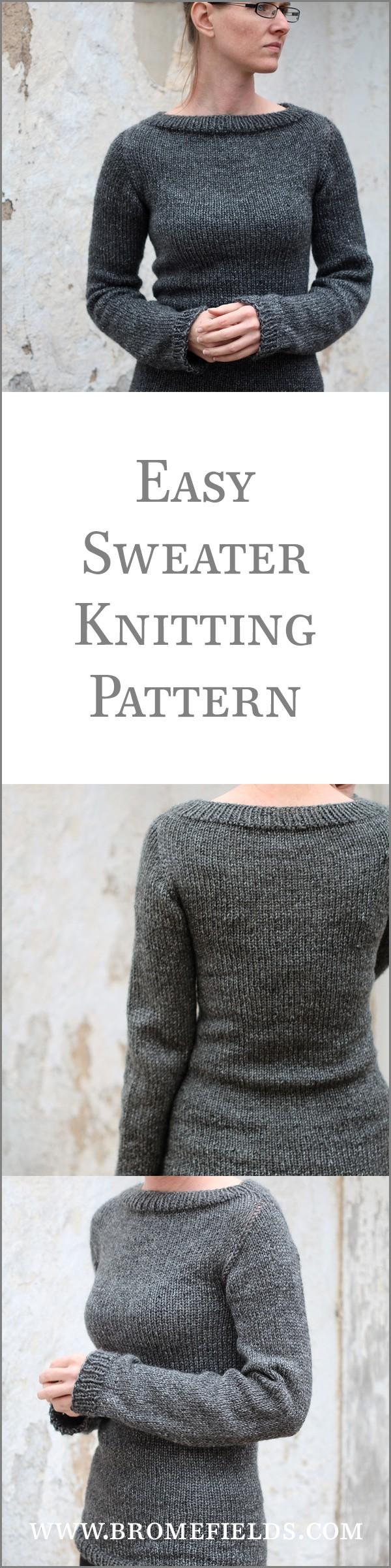 Knitting In The Heartland 2015 : Discipline sweater knitting pattern brome fields