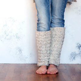 UNITY Leg Warmer Knitting Pattern
