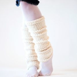 WHOLEHEARTED Leg Warmer Knitting Pattern