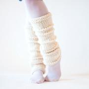 WHOLEHEARTED Leg Warmer Knitting Pattern